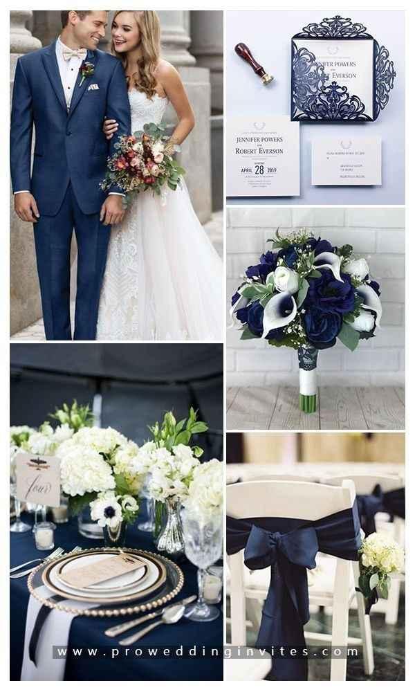Colores decoración boda - 1