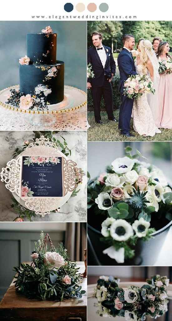 Colores decoración boda - 2