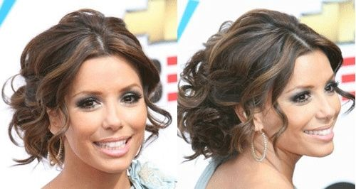 Peinado recogido eva longoria