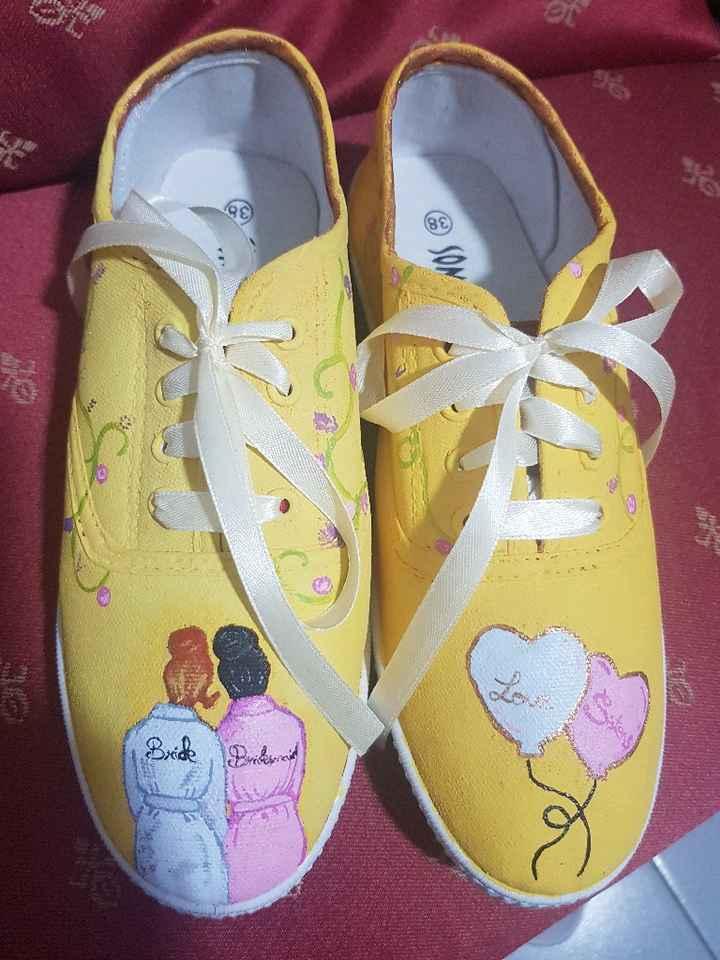 Zapatillas entregadas 👭 - 4