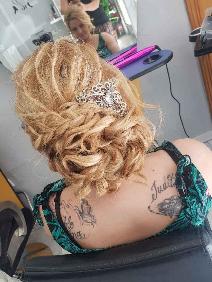 Este es el resultado de mi peinado elegido 😍 - 1