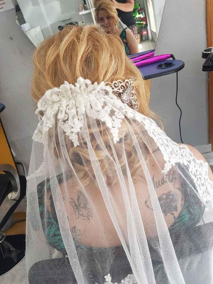 Este es el resultado de mi peinado elegido 😍 - 3