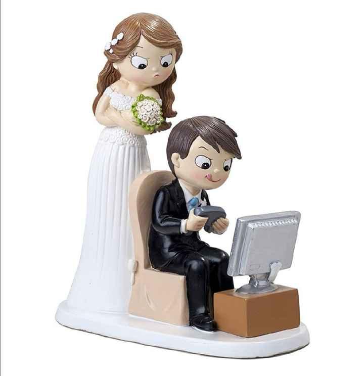 Pastel de boda: ¿con o sin muñecos? - 1