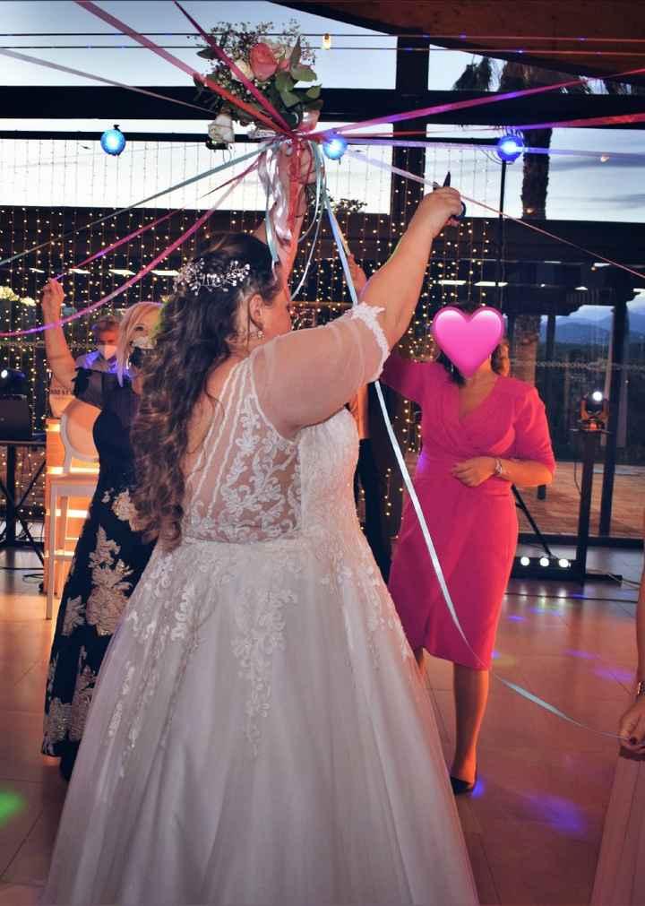 ¿Qué harás con el ramo tras la boda? - 1