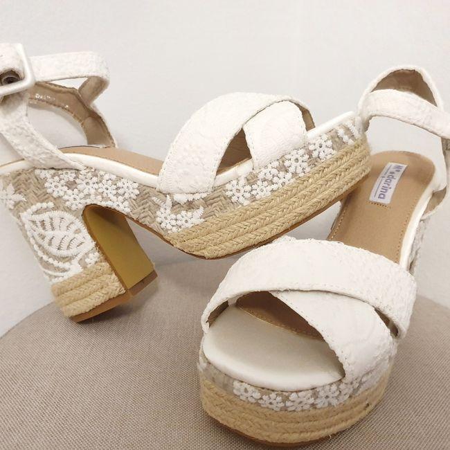 Que tipo de zapatos os vais a poner el día de vuestra Boda? 10