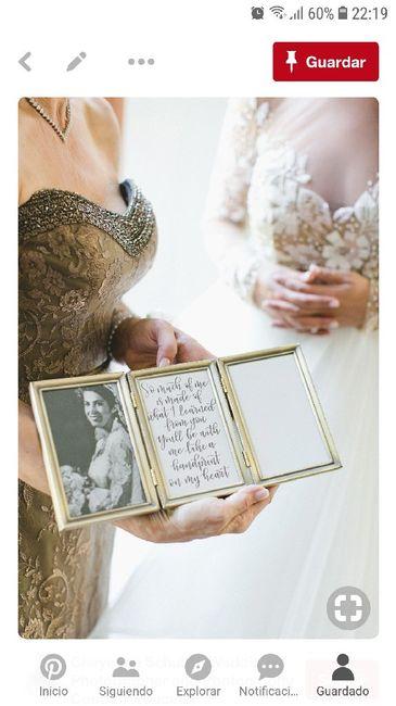 Regalo padres/madres marco triple - Organizar una boda - Foro Bodas.net