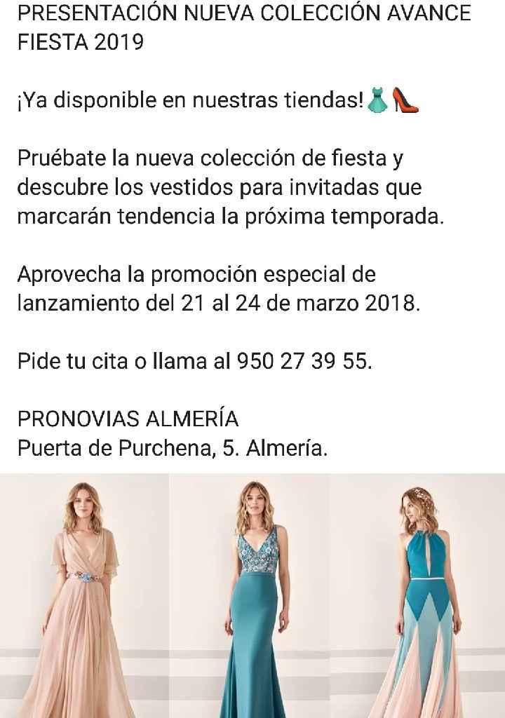 Vestidos Pronovias Fiesta avance para invitadas top - 1