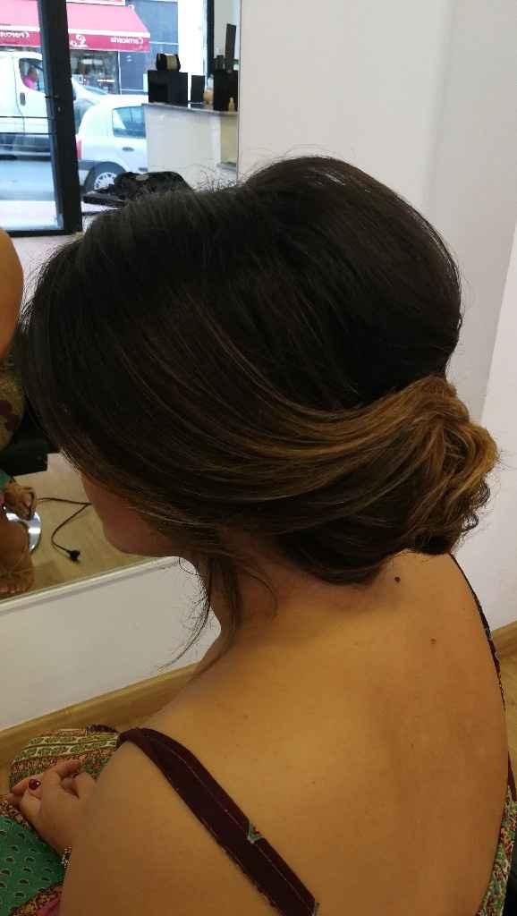Peinado corte de pelo por los hombros - 1