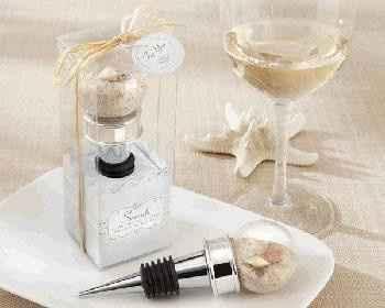 una tapa para vino, para que sea utilizada en momentos especiales