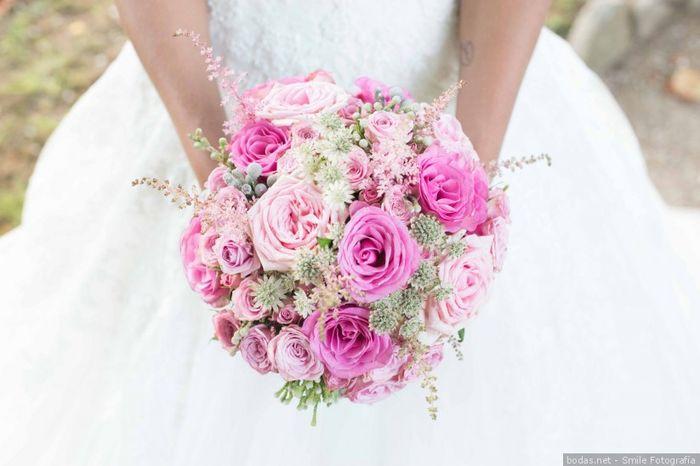 ¿Qué nota le das a este ramo de rosas? 💐 1