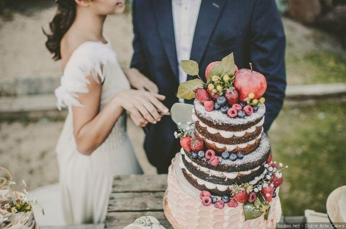 ¿Qué nota le das a este naked cake? 🍰 1