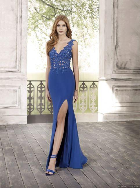 ¿Qué nota le das a esta invitada de azul? 👗 1