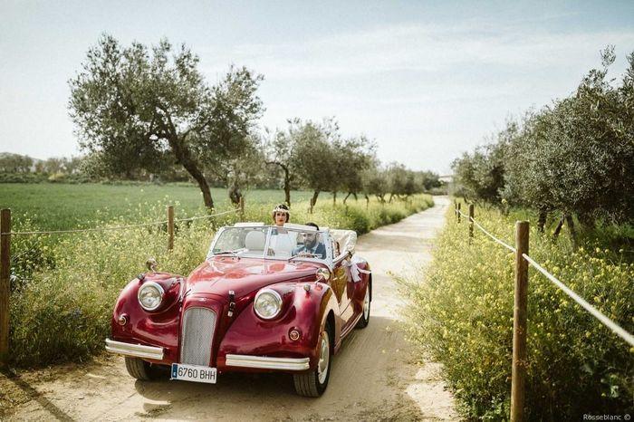 A 24h de la boda, ¡escoge tu coche! 🚗 1