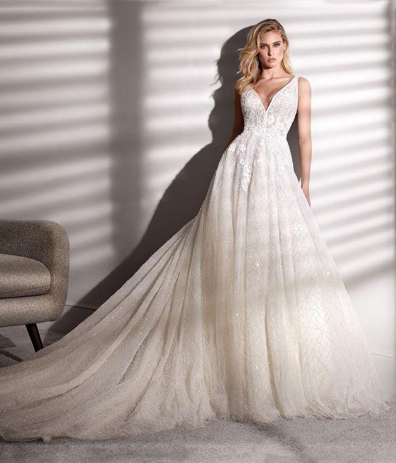 2 estilos, 1 novia: El vestido 1