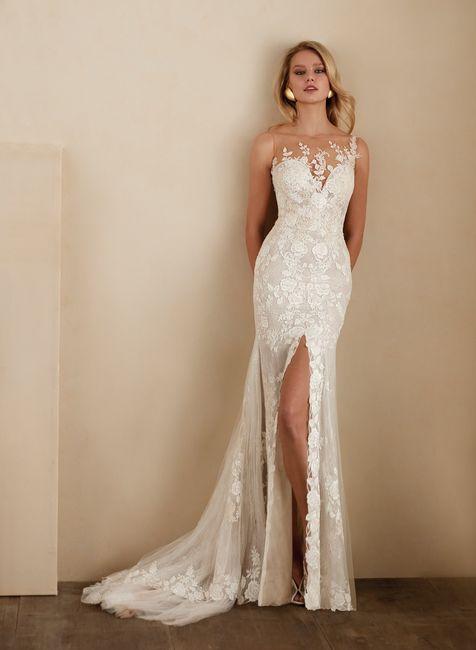 2 estilos, 1 novia: El vestido 2