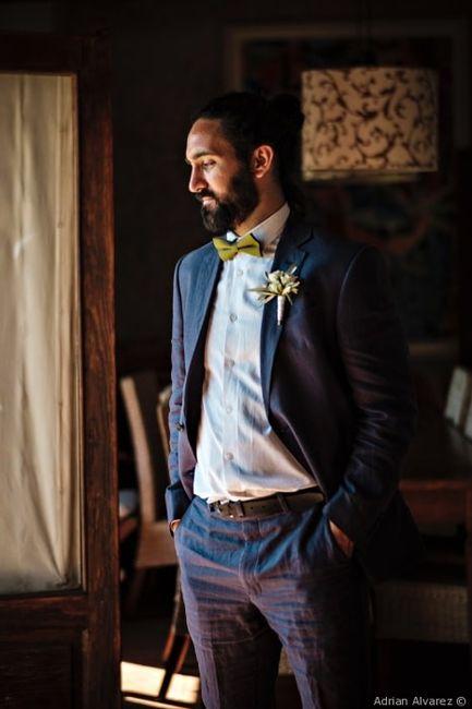 2 estilos, 1 novia: El traje del novio 2