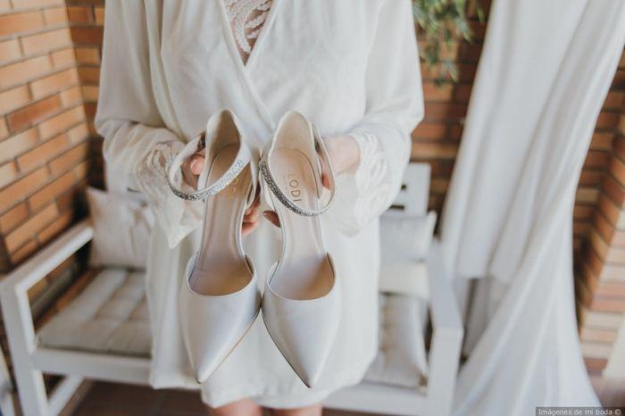 2 estilos, 1 novia: Los zapatos 1