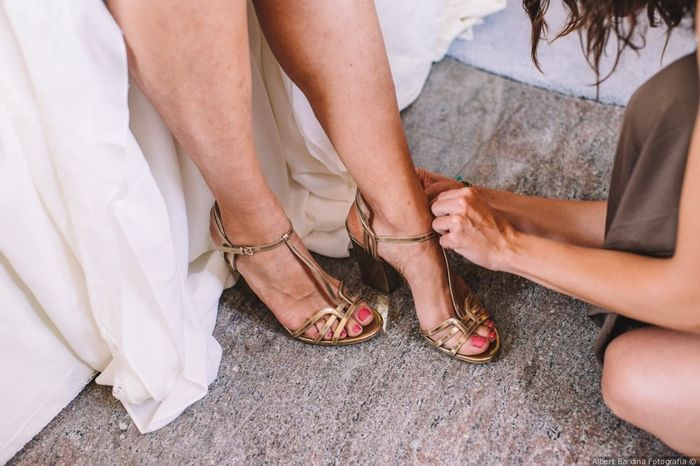 2 estilos, 1 novia: Los zapatos 2