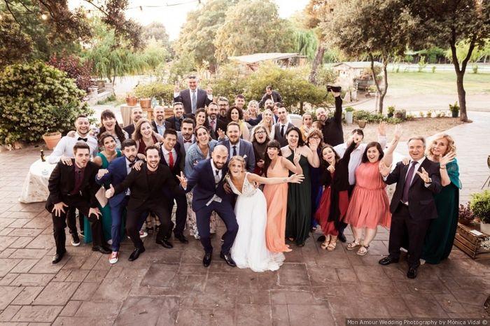 ¿Cuántas personas asistirán a tu boda? 1