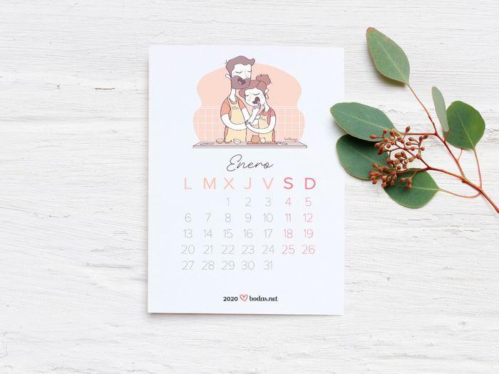 ¡Te regalamos el calendario 2020 más amoroso! 🎁 1