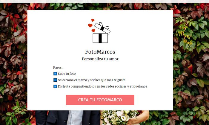 ¡Consigue un fotomarco exclusivo by Bodas.net! 📷😎 - 1