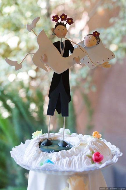 Yo JAMÁS escogería... ¡Estos cake toppers! 2