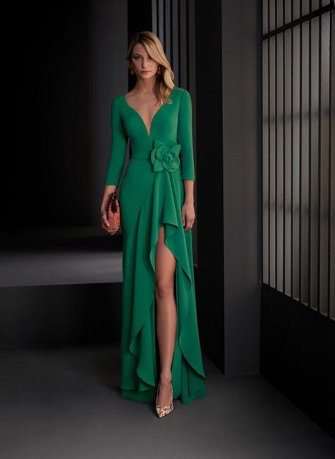 💚Este vestido verde de invitada... ¿Te lo comprarías?💚 1
