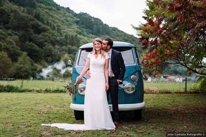 Vestidos de novia minimalistas: ¿Te gustan? 1