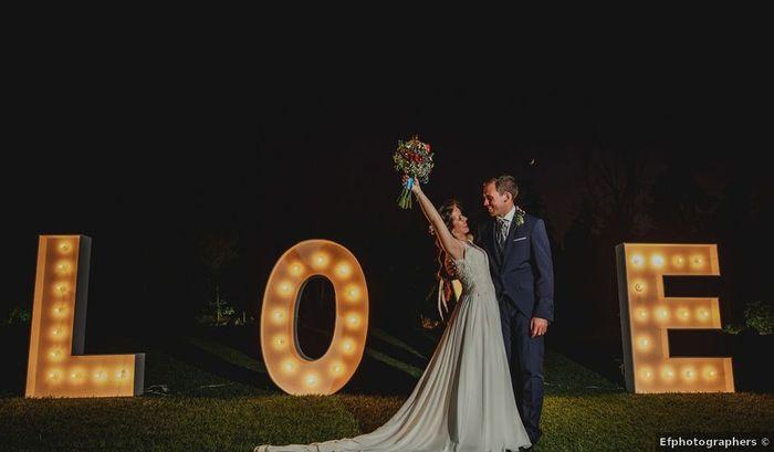 Letras decorativas: ¿Las vais a poner en la boda? 1