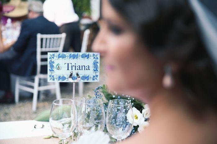 Las mesas, ¿con número o nombre? 2
