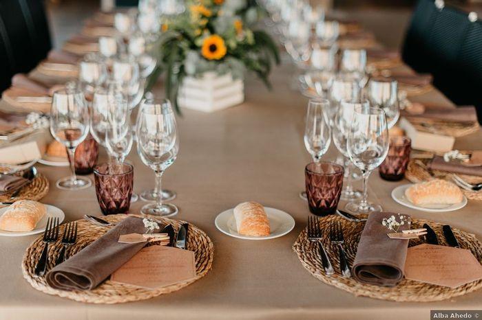 Define con una palabra... ¡Tu menú de boda! 2
