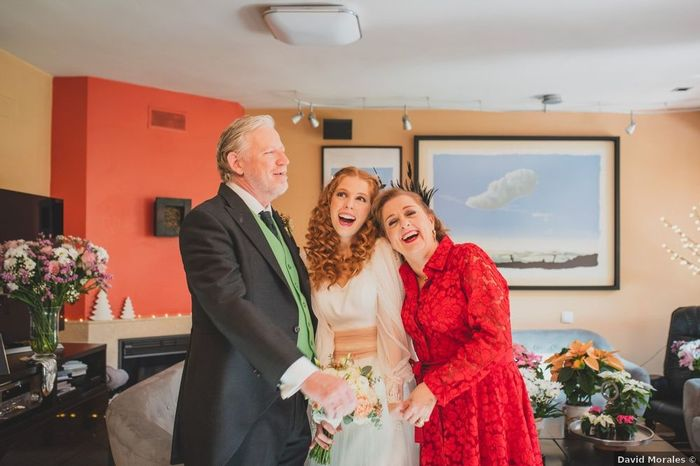¿Vuestros padres os están ayudando con temas de la boda? 1