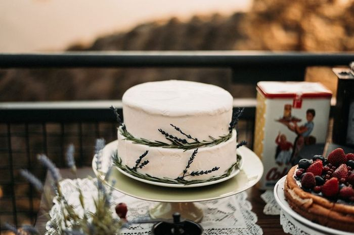 La tarta: ¿blanca o de color? 2