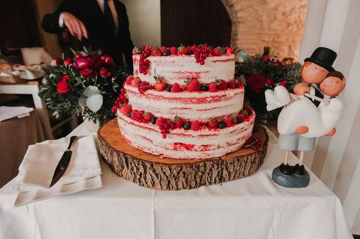 La tarta: ¿blanca o de color? 3