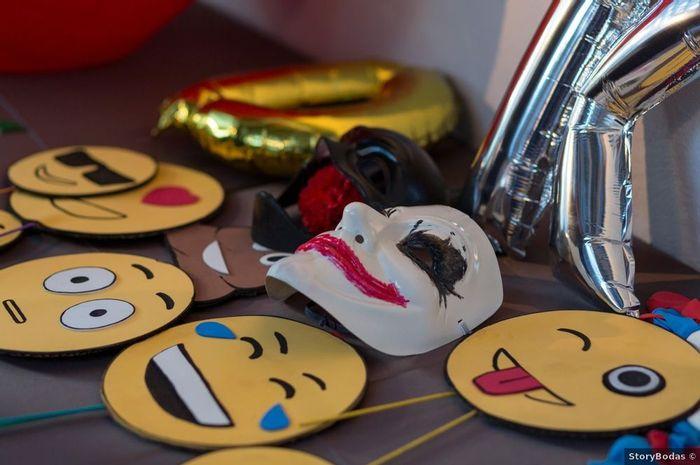 Emojis para el fotomatón: ¿Te animas? 😜😎😏🥰️ 1