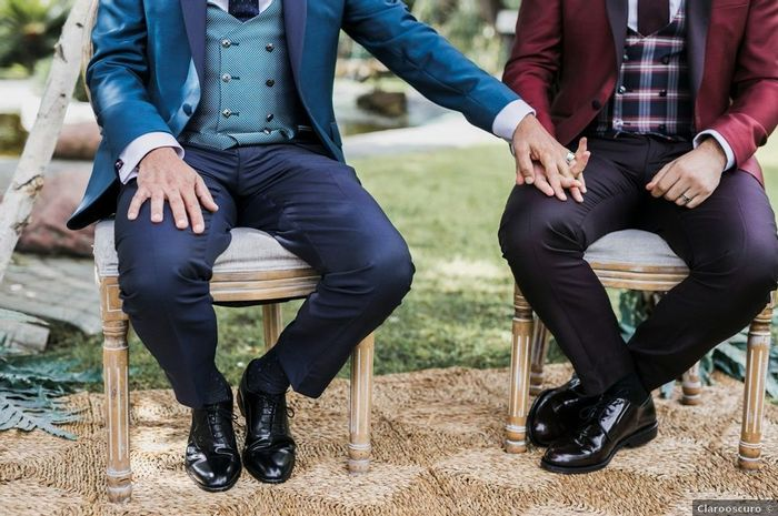 ¿Os cogeréis de la mano durante la ceremonia? 1