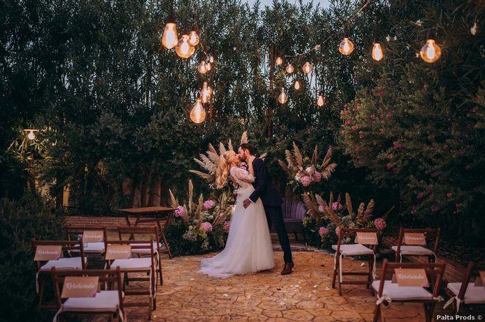 ¿Parece una boda de película? 1