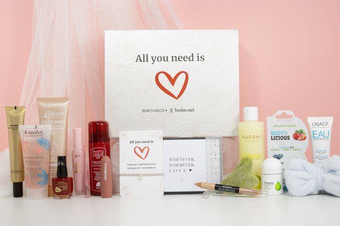 ¡Gana una caja Birchbox x Bodas.net con tu web de boda! 🥰️ 1