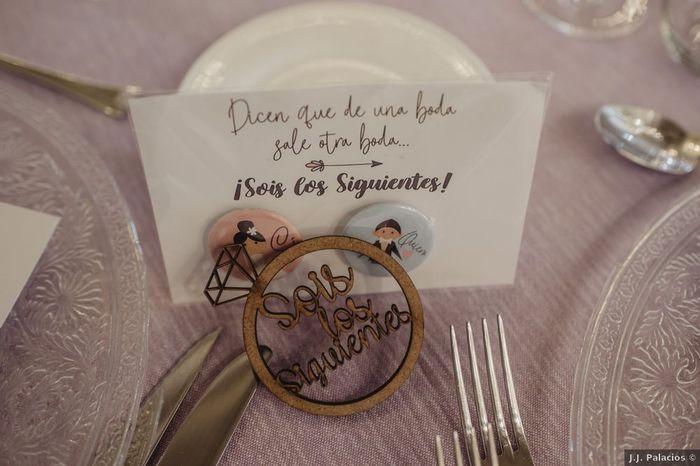 ¿De una boda sale otra boda? 1