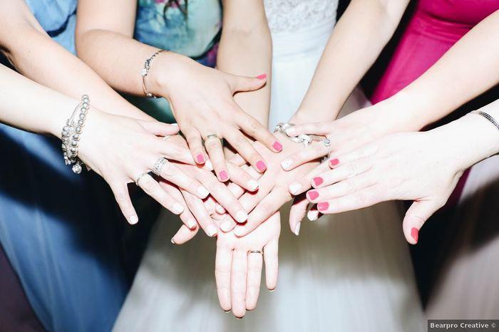 Manicure a combinar com as Damas de Honor? 💅 1