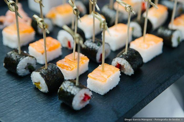 SÍ QUIERO... ¡Sushi en mi boda! 1
