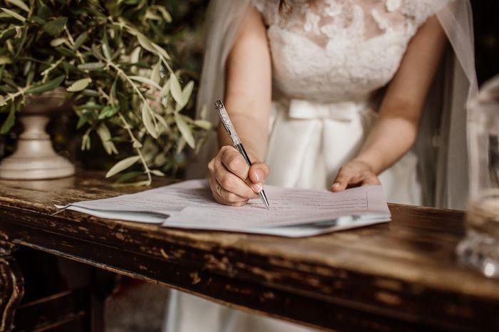 ¿En qué punto está vuestro expediente matrimonial? 2