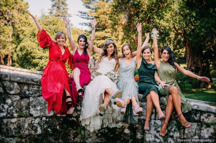 """¿Quién tiene el mejor """"Bride Team"""" del mundo? 😎 1"""
