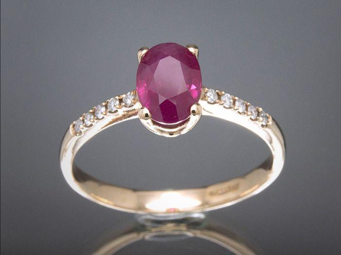 Anillos de compromiso de color rosa: ¿Te enamoran? 1