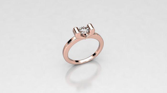Anillos de compromiso de color rosa: ¿Te enamoran? 2