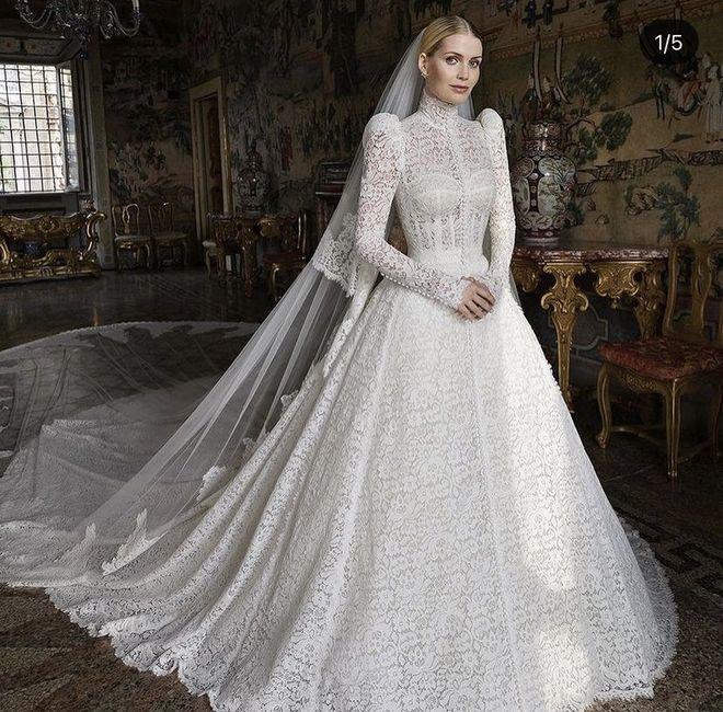 Kitty Spencer, sobrina de Diana de Gales, ¡se ha casado con 5 vestidos diferentes! 😍 - 1