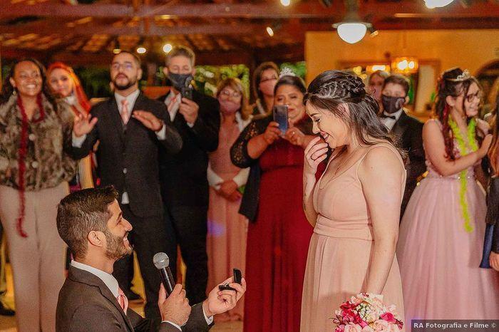 Una pedida el día de tu boda: ¿Te haría ilusión? 1
