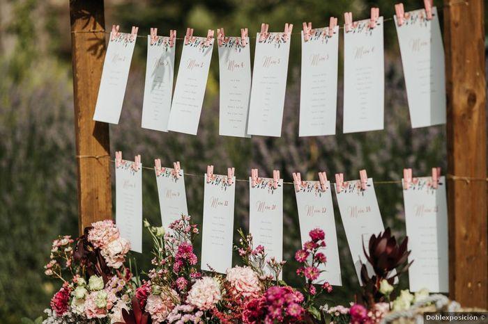 1 seating plan para tu boda: ¿Lo quieres? 2