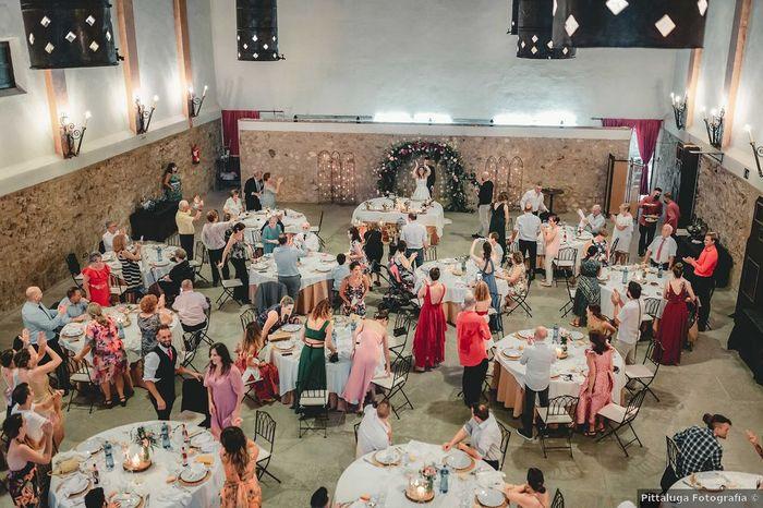¿Qué fue primero escoger el lugar de la ceremonia o del banquete? 2