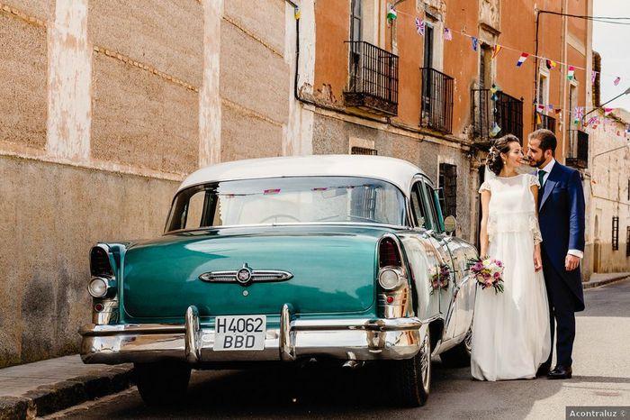 ¿Qué fue primero reservar el coche de boda o el bus para lxs invitadxs? 2
